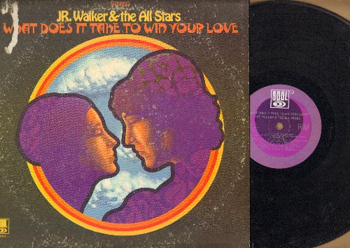 Walker, Jr. & The All Stars - What Does It Take To Win Your Love: These Eyes, Proud Mary, Hot Cha, How Sweet It Is (To Be Loved By You), Sweet Soul (Vinyl STEREO LP record) - EX8/VG6 - LP Records
