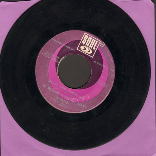Walker, Jr. & The All Stars - Shake And Fingerpop/Cleo's Back - VG7/ - 45 rpm Records