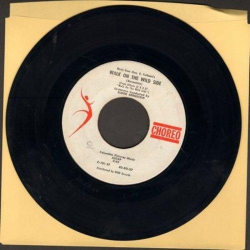 Bernstein, Elmer - Walk On The Wild Side/Walk On The Wild Side Jazz (FANTASTIC Instrumental 2-sider!) - NM9/ - 45 rpm Records