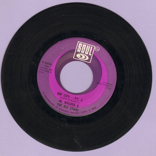 Walker, Jr. & The All Stars - Hip City (Parts 1+2)  - NM9/ - 45 rpm Records