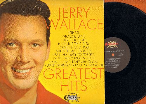 Wallace, Jerry - Greatest Hits: Primrose Lane, How The Time Flies, Shutters And Boards, In The Misty Moonlight (Vinyl STEREO LP record) - NM9/VG7 - LP Records