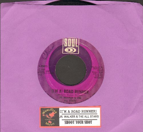 Walker, Jr. & The All Stars - (I'm A Road Runner)/Shoot Your Shot (with juke box label) - EX8/ - 45 rpm Records
