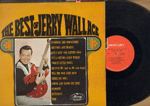 Wallace, Jerry - The Best Of: Butterfly, Rainbow, Shutters And Boards, It's A Cotton Candy World (Vinyl STEREO LP record) - EX8/EX8 - LP Records