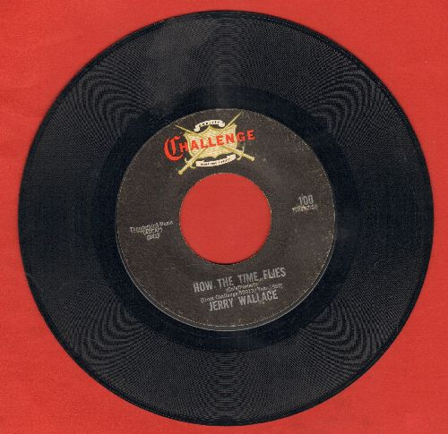 Wallace, Jerry - How The Time Flies/Shutters And Boards (early double-hit re-issue) - EX8/ - 45 rpm Records