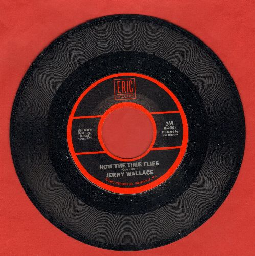 Wallace, Jerry - How The Time Flies/In The Misty Moonlight (double-hit re-issue) - NM9/ - 45 rpm Records