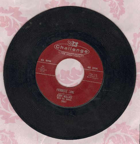 Wallace, Jerry - Primrose Lane/By Your Side  - NM9/ - 45 rpm Records