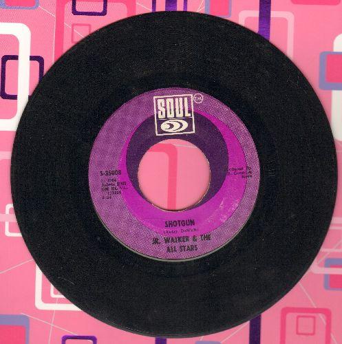 Walker, Jr. & The All Stars - Shot Gun/Hot Cha (with juke box label) - VG7/ - 45 rpm Records