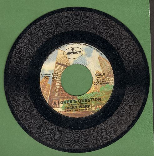 Ward, Jacky - A Lover's Question/She Belongs To Me - EX8/ - 45 rpm Records
