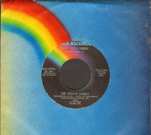 Waller Family - Sweet Disco Lady/I Believe In You (with MCA company sleeve) - EX8/ - 45 rpm Records