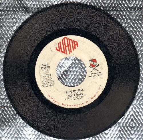 Ward, Anita - Ring My Bell/If I Could Feel That Old Feeling Again (DISCO FAVORITE!) - EX8/ - 45 rpm Records