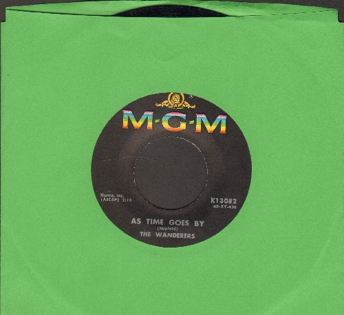 Wanderers - As Time Goes By/There Is No Greater Love  - NM9/ - 45 rpm Records