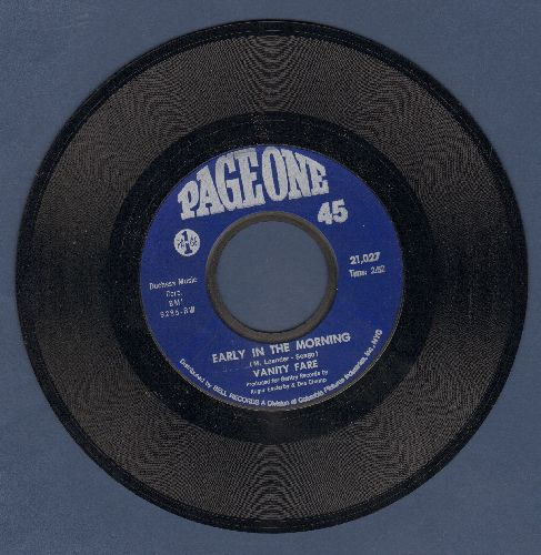 Vanity Fare - Early In The Morning/You Made Me Love You  - M10/ - 45 rpm Records