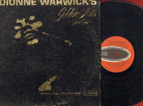 Warwick, Dionne - Golden Hits Part 1: Don't Make Me Over, Wishin' And Hopin', Walk On By, Anyone Who Had A Heart, (There's) Always Something There To Remind Me (Vinyl MONO LP record, gate-fold cover) - NM9/VG7 - LP Records