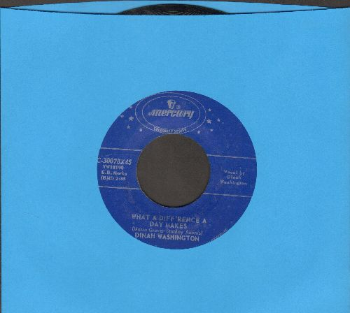Washington, Dinah - What A Difference A Day Makes/Come On Home (authentic-looking re-issue) - EX8/ - 45 rpm Records