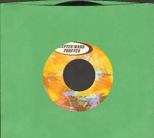 Warwick, Dionne - Walk On By/Please Make Him Love Me (double-hit re-issue) - EX8/ - 45 rpm Records