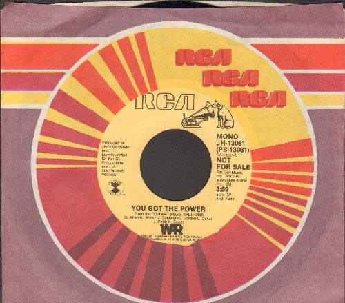 WAR - You Got The Power (double-A-sided DJ advance pressing with RCA company sleeve) - NM9/ - 45 rpm Records