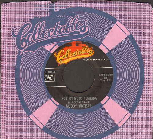 Muddy Waters - Got My Mojo Working/Rocket 88 (by Jackie Brenston on flips-side) (re-issue with company sleeve) - NM9/ - 45 rpm Records