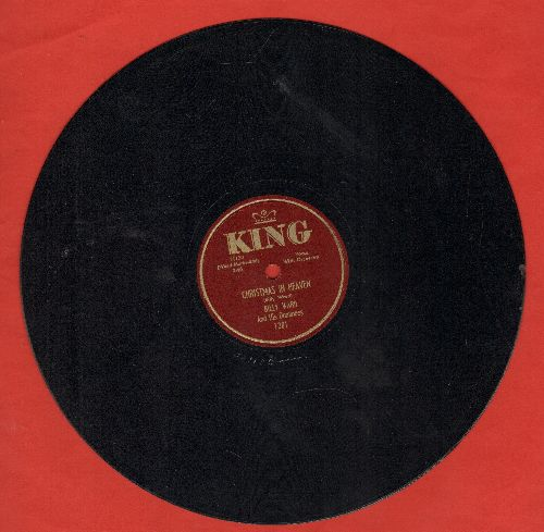 Ward, Billy & The Dominoes - Christmas In Heaven/Ringing In A Brand New Year (10 inch 78 rpm record) - EX8/ - 78 rpm