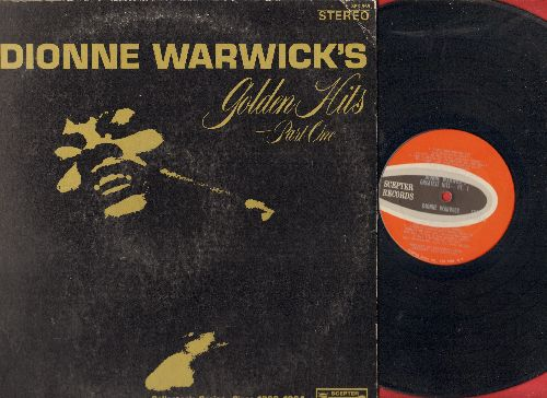 Warwick, Dionne - Dionne Warwick's Golden Hits Part 1: Walk On By, Don't Make Me Over, Wishin' And Hopin', Make It Easy On Yourself (Vinyl STEREO LP record, gate-fold cover) - NM9/VG6 - LP Records