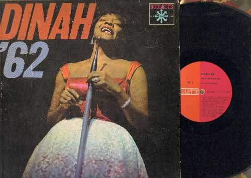 Washington, Dinah - Dinah '62: Is You Is Or Is You Ain't My Baby, Red Sails In The Sunset, You're Nobody 'Til Somebody Loves You, Coquette (Vinyl MONO LP record) - VG7/VG7 - LP Records