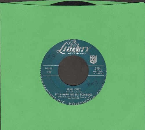 Ward, Billy & His Dominoes - Star Dust/Lucinda - VG6/ - 45 rpm Records