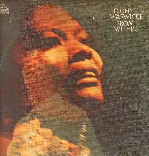 Warwick, Dionne - From Within:Unchained Melody, Summertime, I'm Your Puppet, We Can Work It Out (2 vinyl LP record set, gate-fold cover) - NM9/VG7 - LP Records