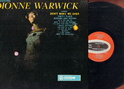 Warwick, Dionne - Presenting Dionne Warwick: Don't Make Me Over, Wishing And Hoping, Zip A Dee Doo Da, Make It Easy On Yourself (Vinyl MONO LP record, 1963 first pressing) - NM9/NM9 - LP Records