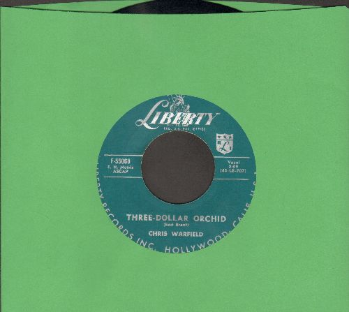 Warfield, Chris - Three-Dollar Orchid/You Won't Forget Me  - EX8/ - 45 rpm Records