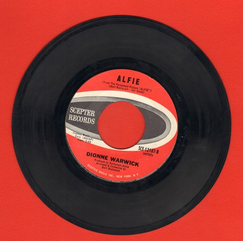 Warwick, Dionne - Alfie/The Beginning Of Loneliness (bb) - EX8/ - 45 rpm Records