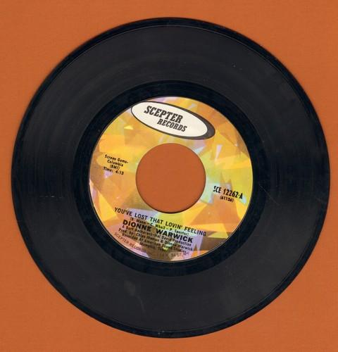 Warwick, Dionne - You've Lost That Lovin' Feeling/Window Wishing - NM9/ - 45 rpm Records