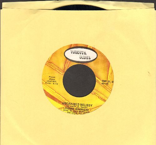 Warwick, Dionne - Unchained Melody/You've Lost That Lovin' Feeling (double-hit re-issue) - NM9/ - 45 rpm Records