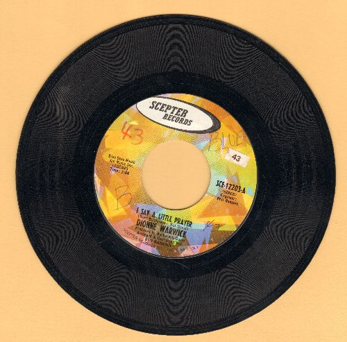 Warwick, Dionne - I Say A Little Prayer/Theme From Valley Of The Dolls (wol) - VG7/ - 45 rpm Records