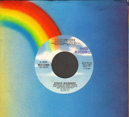 Wariner, Steve - I Got Dreams/The Loser Wins (wth MCA company sleeve) - NM9/ - 45 rpm Records