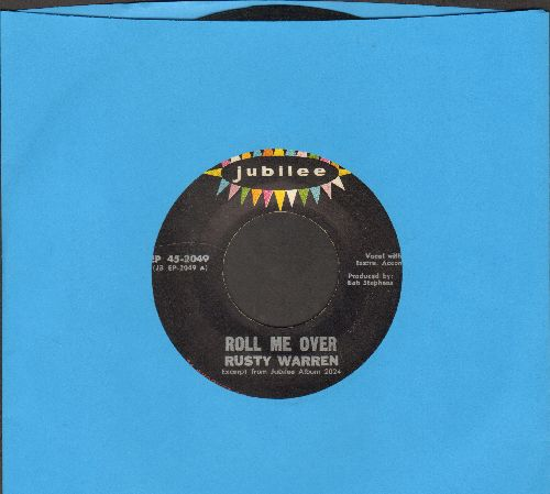 Warren, Rusty - Rool Me Over/Do It Now/Twist Blues (Vinyl EP record) - VG7/ - 45 rpm Records