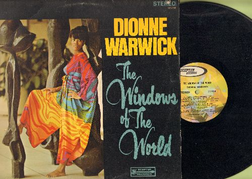 Warwick, Dionne - The Windows Of The World: I Say A Little Prayer, Somewhere, What's Good About Goodbye (vinyl STEREO LP record) - NM9/VG7 - LP Records