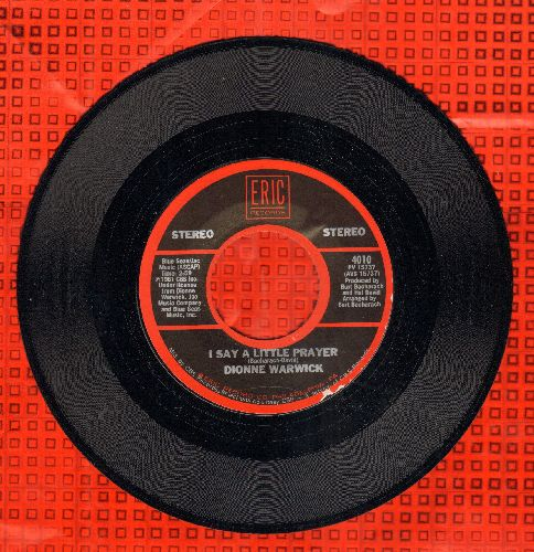 Warwick, Dionne - I Say A Little Prayer/Theme From Valley Of The Dolls (double-hit re-issue) - M10/ - 45 rpm Records