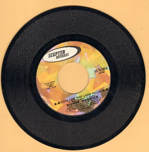 Warwick, Dionne - You've Lost That Lovin' Feeling/Window Wishing (bb) - VG7/ - 45 rpm Records