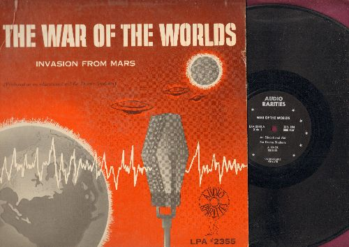War Of The Worlds - War Of The Worlds - Invasion From Mars - An original recording of the famous Orson Wells broadcast that frightened the nation in 1938 (vinyl LP record) - VG7/VG7 - LP Records