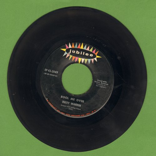 Warren, Rusty - Rool Me Over/Do It Now/Twist Blues (Vinyl EP record) - EX8/ - 45 rpm Records