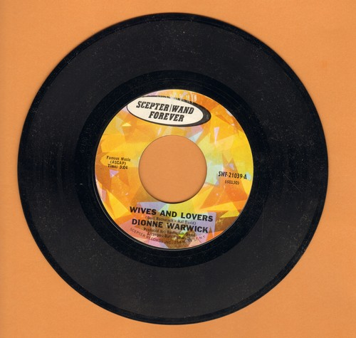 Warwick, Dionne - Wives And Lovers/The Good Life - NM9/ - 45 rpm Records