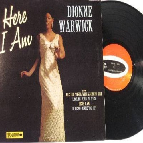 Warwick, Dionne - Here I Am: Once In A Life Time, This Little Light, Looking With My Eyes, Don't Go Breaking My Heart, Are You There With Another Girl (Vinyl STEREO LP record) - EX8/EX8 - LP Records