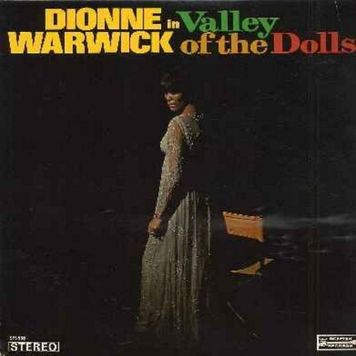 Warwick, Dionne - Valley Of The Dolls: Up Up And Away, Do You Know The Way To San Jose, Where Would I Go, As Long As There's An Apple Tree (Vinyl STEREO LP record) - EX8/EX8 - LP Records