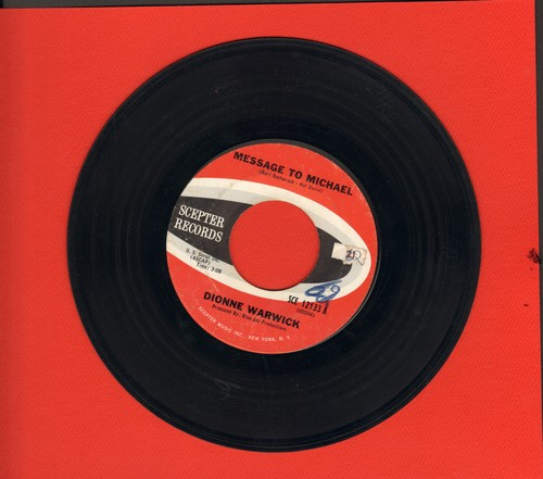 Warwick, Dionne - Message To Michael/Here Where There Is Love - VG7/ - 45 rpm Records