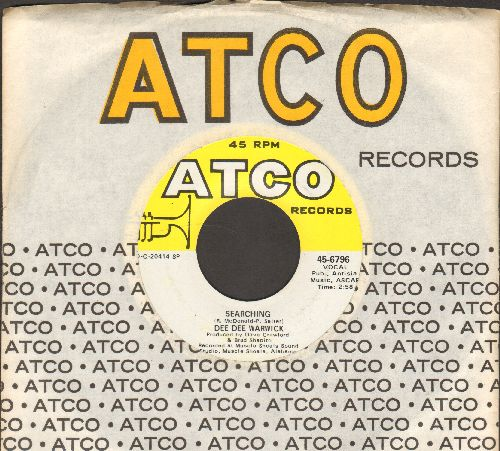 Warwick, Dee Dee - Searching/Cold Night In Georgia (with Atco company sleeve) - M10/ - 45 rpm Records