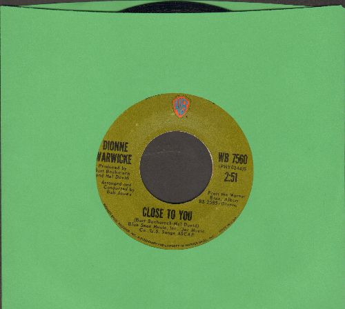 Warwick, Dionne - Close To You/If We Only Have Love - EX8/ - 45 rpm Records
