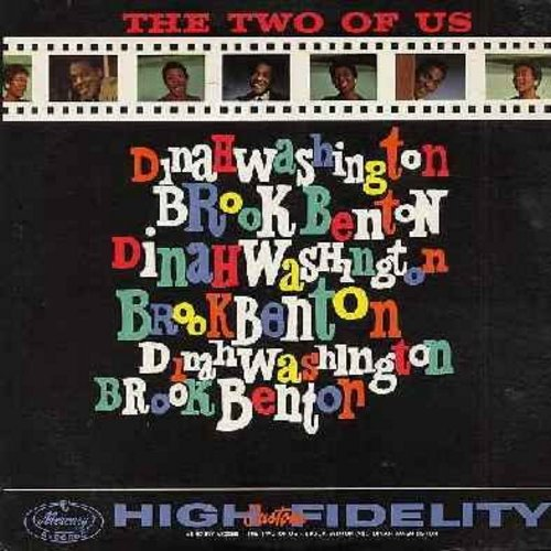 Washington, Dinah & Brook Benton - The Two Of Us: Baby (You've Got What It Takes), A Rockin' Good Way, I Believe, There Goes My Heart, Call Me, Someone To Believe In (Vinyl MONO LP record) - EX8/EX8 - LP Records