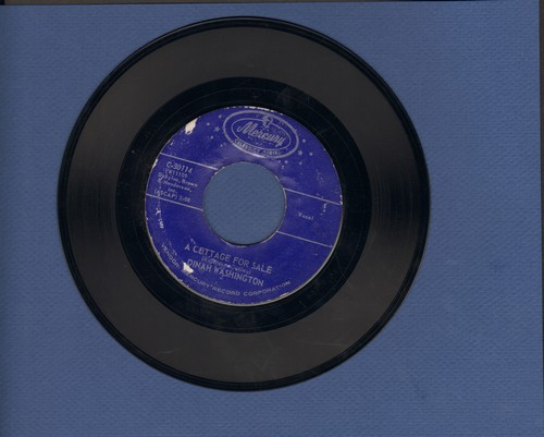 Washington, Dinah - Love For Sale/A Cottage For Sale (double-hit re-issue) - EX8/ - 45 rpm Records