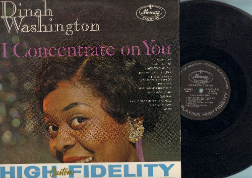 Washington, Dinah - I Concentrate On You: Crazy Love, I Got It Bad And That Ain't Good, Misery, Daybreak, Lord You Made Us Human (Vinyl MONO LP record) - VG6/EX8 - LP Records