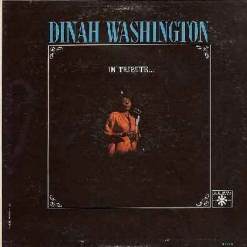 Washington, Dinah - In Tribute…: That Sunday (That Summer), Something's Got To Give, Call Me Irresponsible, The Good Life (Vinyl MONO LP record) - NM9/EX8 - LP Records