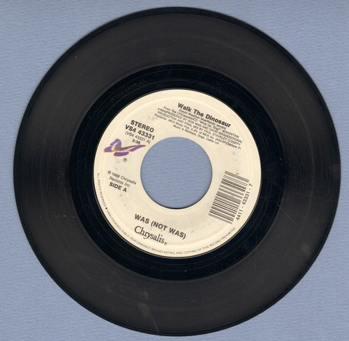 Was (Not Was) - Walk The Dinosaur/Wedding Vows In Vegas - NM9/ - 45 rpm Records